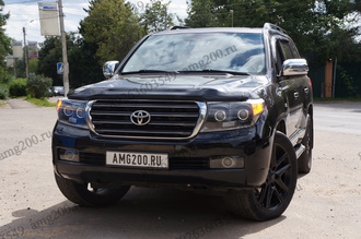 Квадроксенон на TOYOTA Land Cruiser 200 (2007-2011)